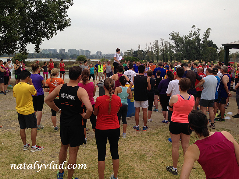 Тренировки по бегу в Австралии