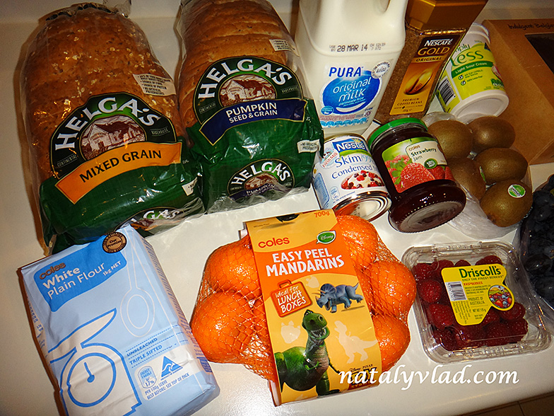 Продукты питания в Австралии