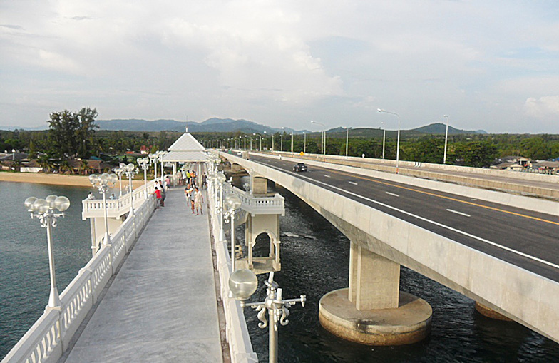 Sarasin Bridge Thailand