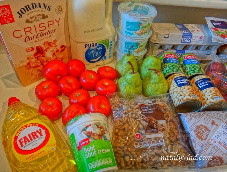 Продукты в Австралии | Блог об Австралии Ната и Тёма