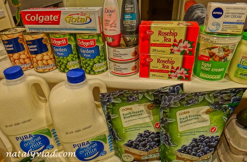 Продукты в Австралии | Блог об Австралии