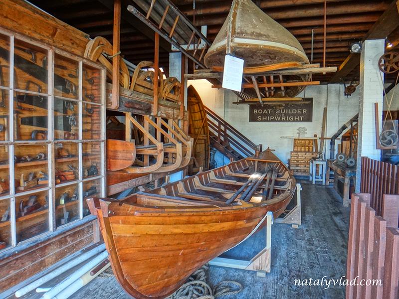 Лодка, Мастерская, Дерево, Старая Австралия   Блог об Австралии