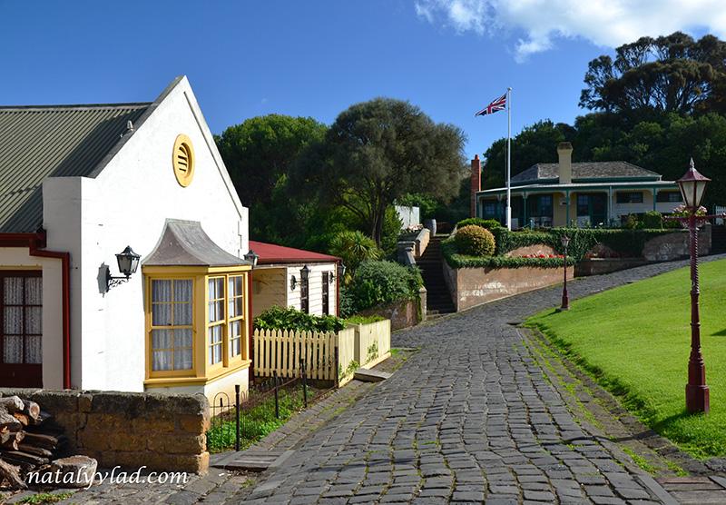 Викторианские дома, Брусчатка, Улица Фонарь, Старая Австралия   Блог об Австралии