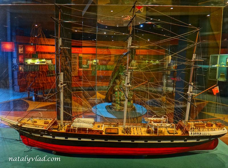 Корабль, Кораблекрушение, Музей, Loch Ard   Блог об Австралии