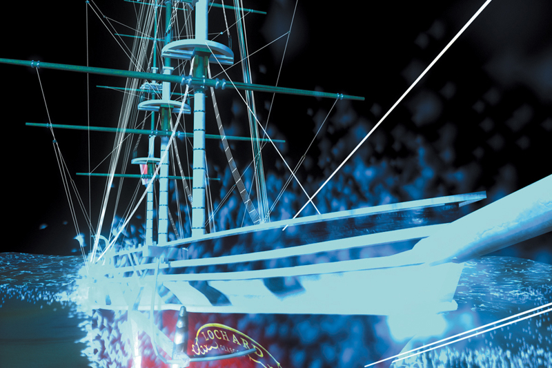 Лазерное шоу, Корабль, Кораблекрушение, Loch Ard Wreck   Блог об Австралии