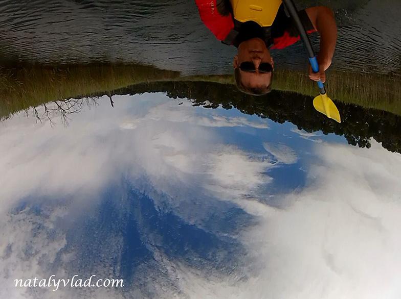 Австралия Блог, Каяк на реке, Энглси отдых река