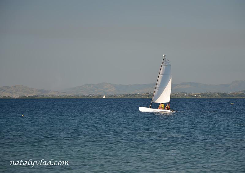 Отдых на Фиджи, Море парусник горы, Острова Фиджи