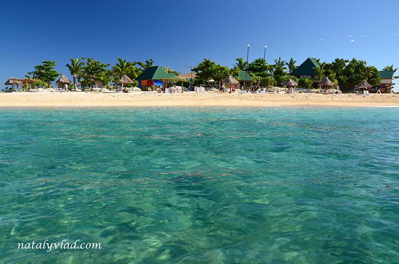 Дневной тур на острова Фиджи Отдых, Пляж море пальмы