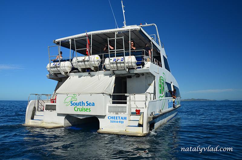 Туры на острова Фиджи отдых, Паром Денарау Фиджи