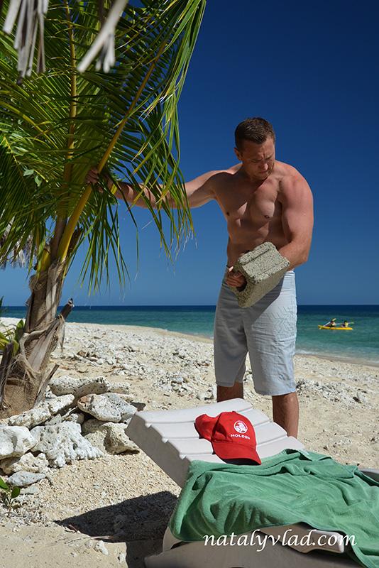 Отдых на Фиджи, Пляж пальма море лежак тренировка