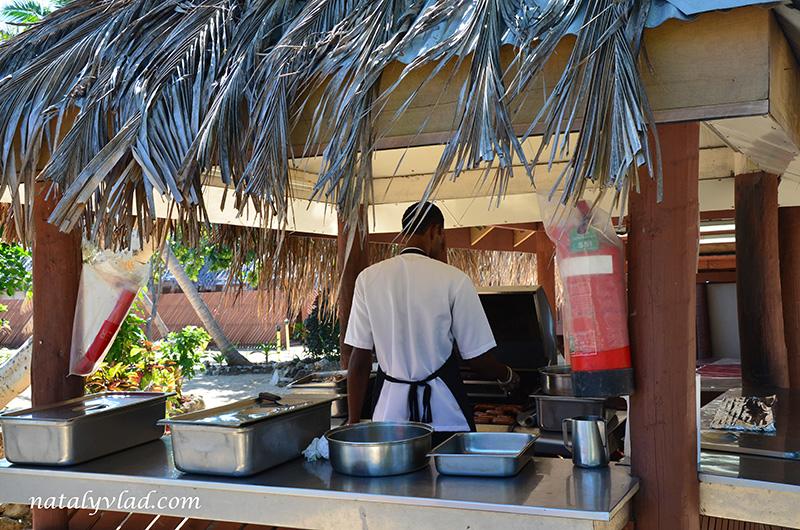 Фиджи отдых, Еда на Фиджи дневной тур на остров