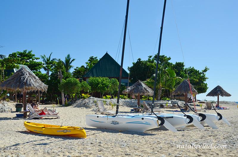 Фиджи отдых, Пляж лодки каяки, Дневной тур на острова Фиджи