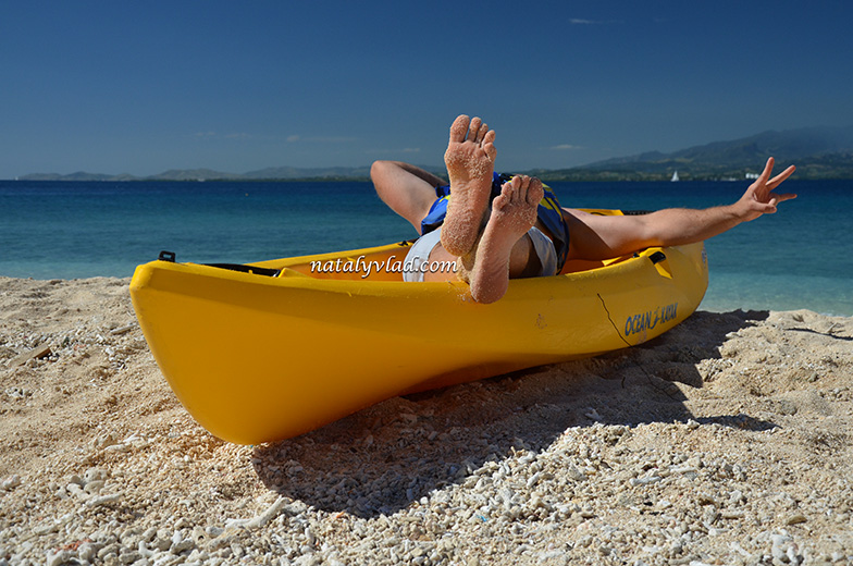 Острова Фиджи Отдых, Пляж Лодка Море Песок
