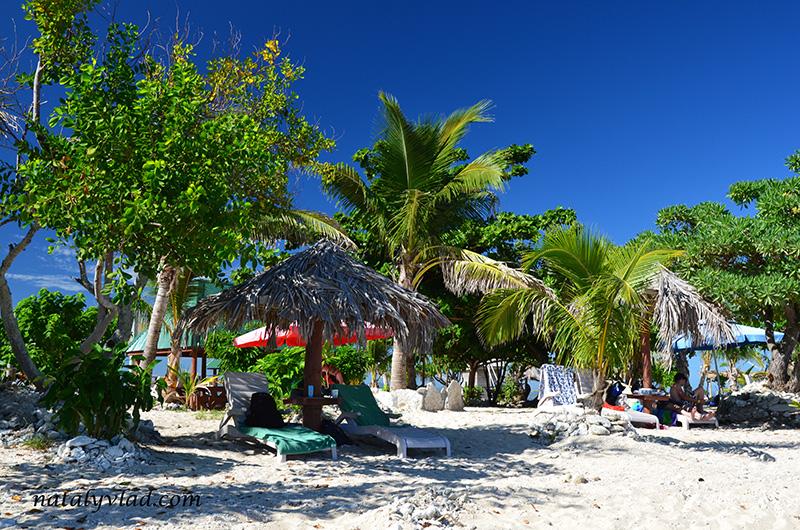 Отдых на Фиджи, Пляж Пальмы Лежаки, Острова Фиджи