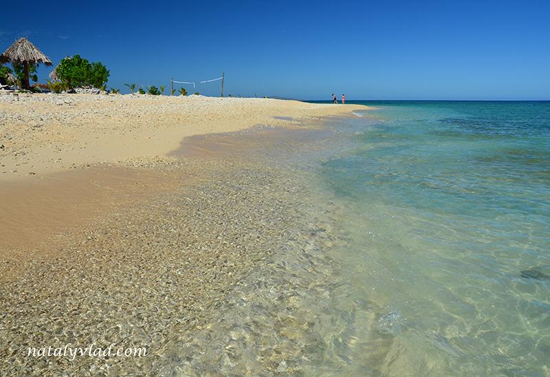 Отдых на островах Фиджи, Пляж море песок кораллы