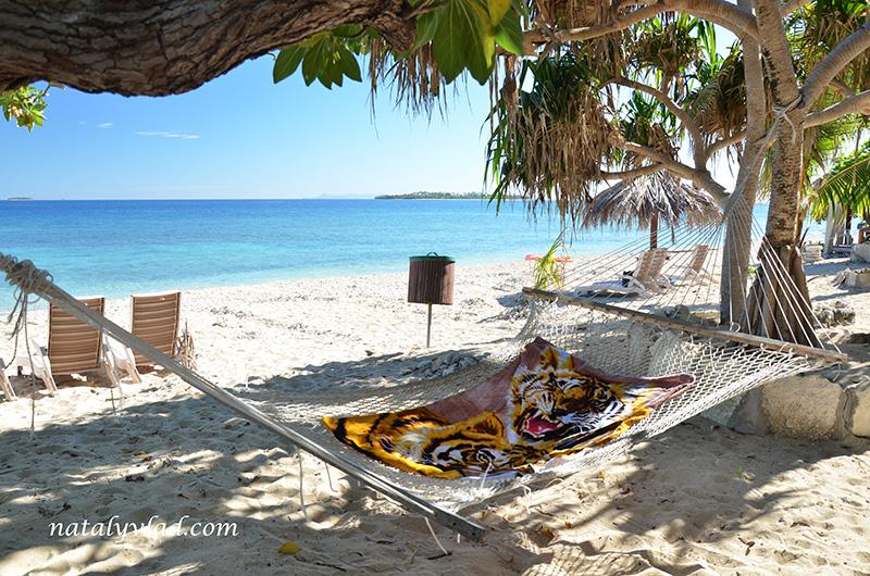 Отдых на Фиджи, Пляж Пальмы Гамак Море, Острова Фиджи