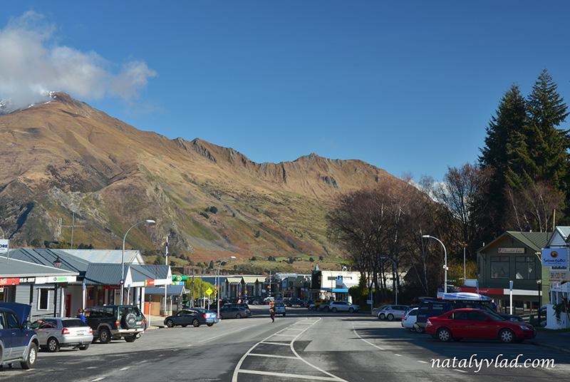Новая Зеландия отдых Ванака улицы кафе