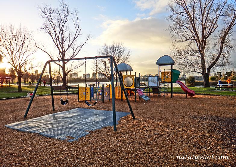 Жизнь в Австралии Блог Детская площадка Мельбурн