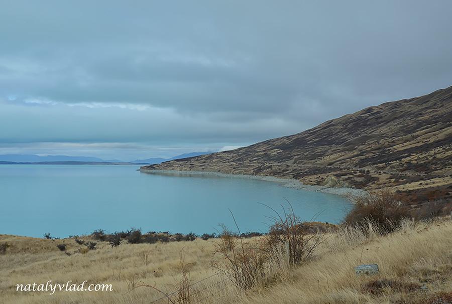 Новая Зеландия Озеро Пукаки фото