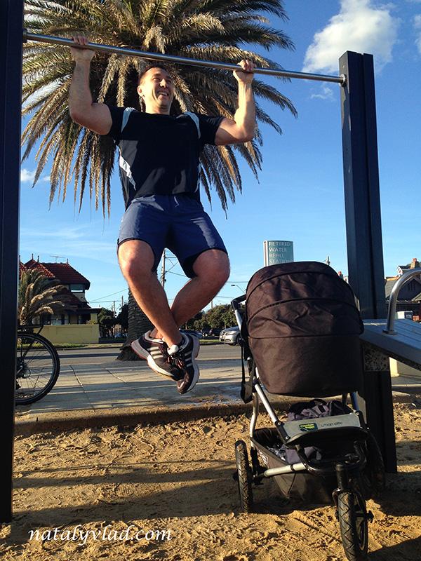 Блог о жизни в Австралии Мельбурн Набережная Спорт