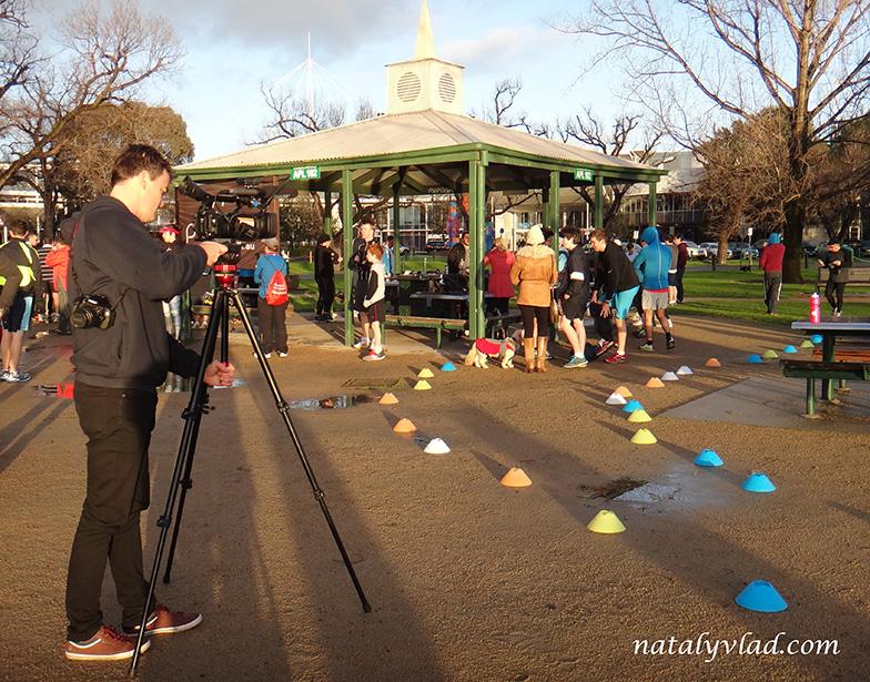 Жизнь в Австралии Блог Альберт Парк Озеро Рассвет Park Run