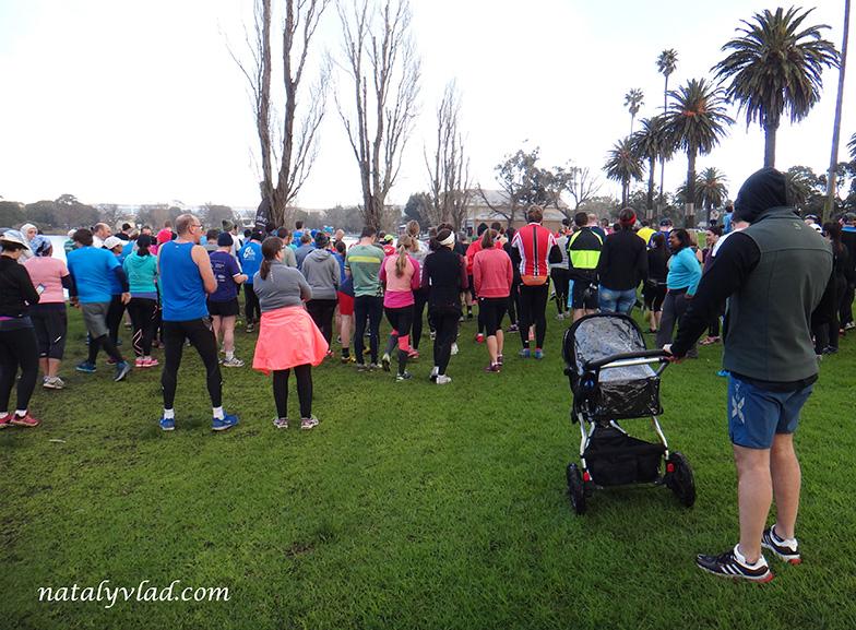 Жизнь в Австралии Блог Альберт Парк Бег Тренировка Озеро Park Run