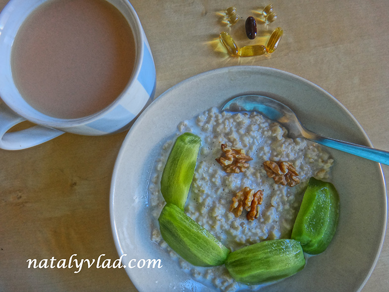 Сброс веса Завтрак Каша