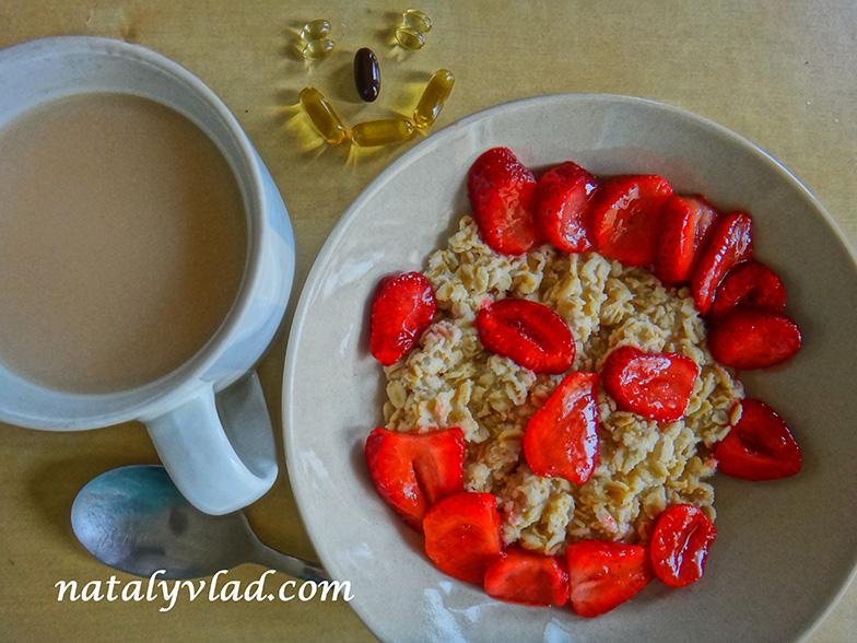 Сброс веса Здоровое питание Завтрак Каша