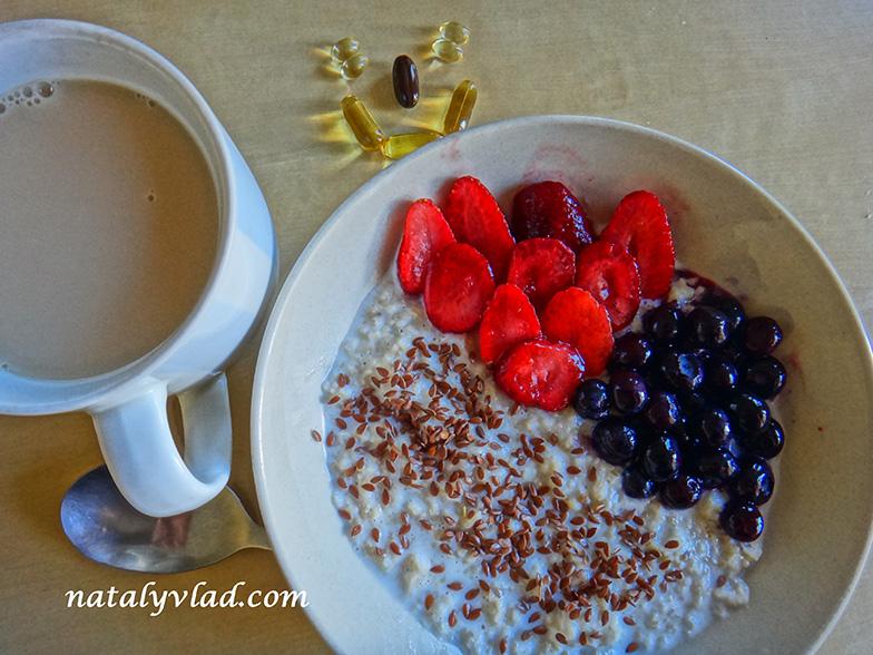 Сброс веса правильное питание завтрак овсянка
