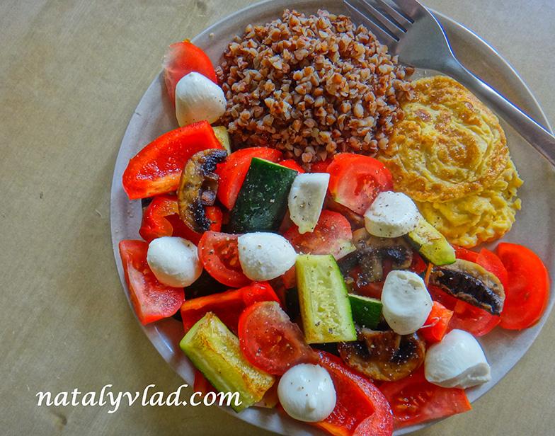 Сброс веса Правильное питание Обед овощи