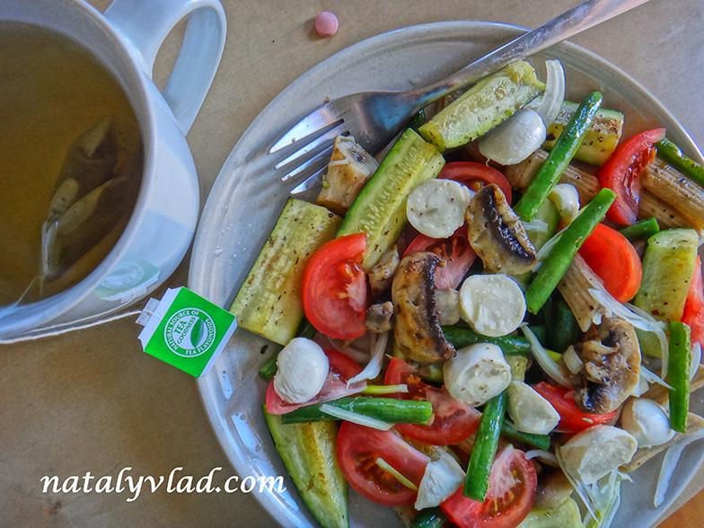 Сброс веса питание Обед из овощей