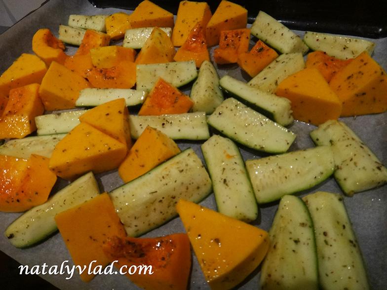 Сброс веса Правильное питание Запеченные овощи