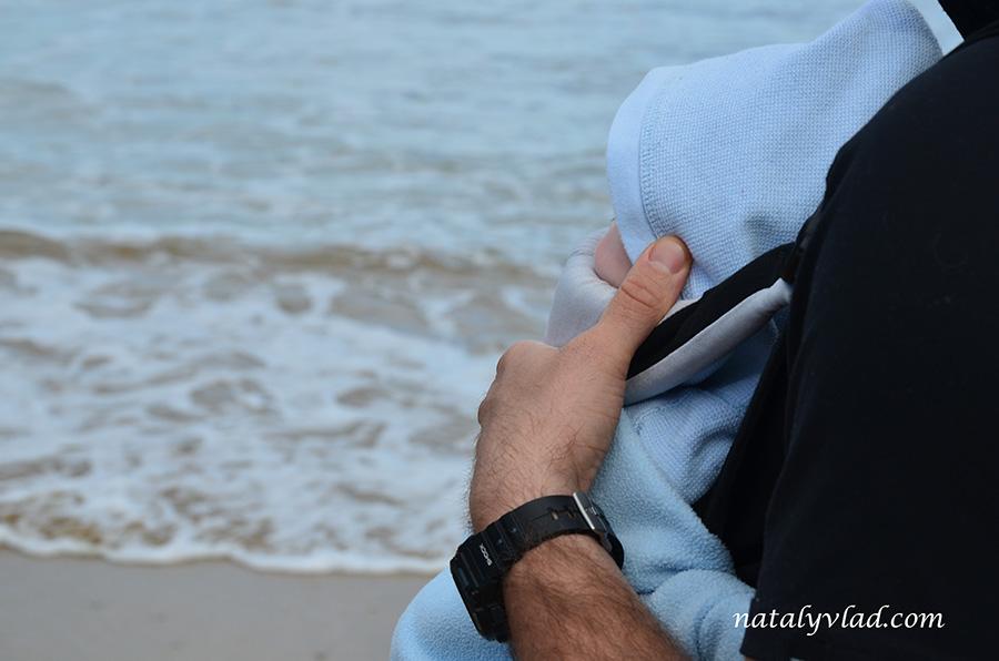 Ребенок и океан