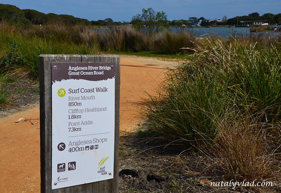 Пешие треки вдоль побережья океана в Австралии