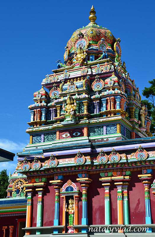Отдых на Фиджи Храм в Нади