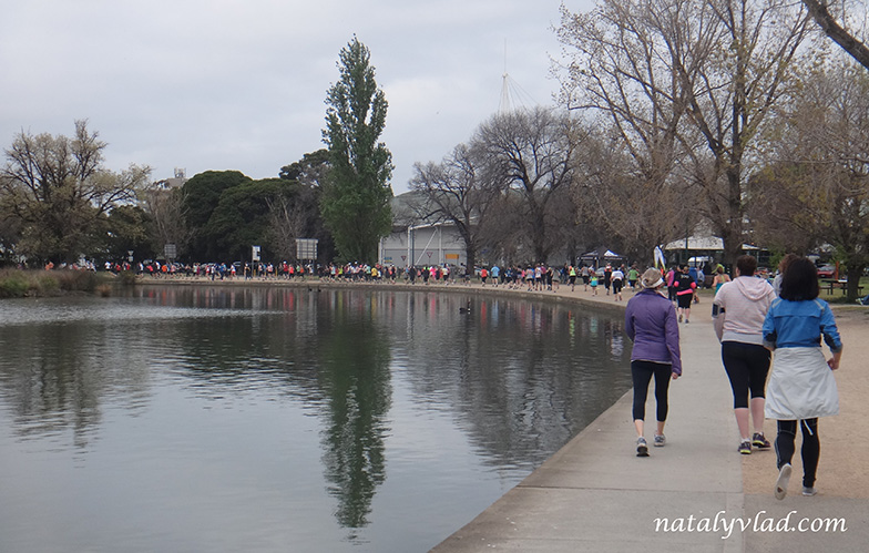 Забеги вокруг озера в Мельбурне