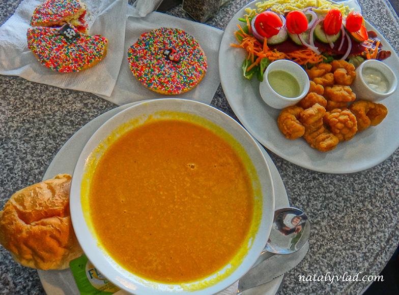 Тасмания Еда Кафе Тыквенный суп