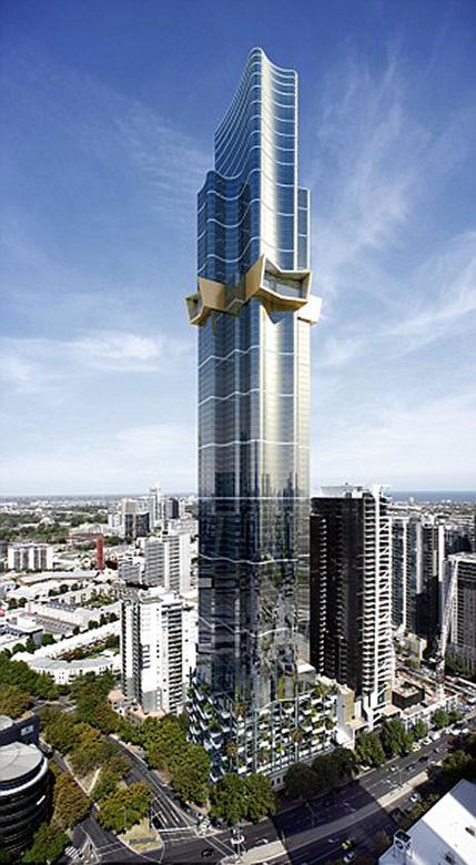 Australia 108 Мельбурн Самый высокий небоскреб