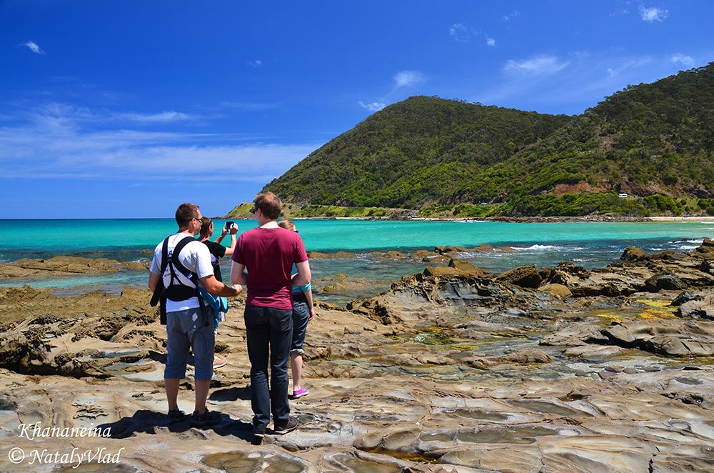 Австралия Лорн Пляжи у океана
