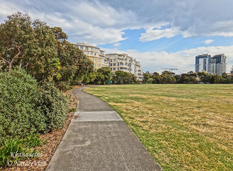 Стадион парк в Порт Мельбурне дорожка