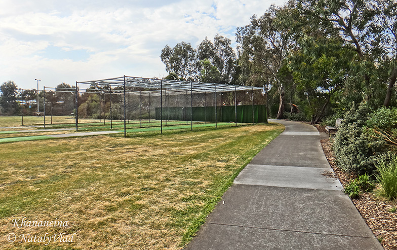 Стадион парк в Порт Мельбурне площадка для бейсбольных тренировок