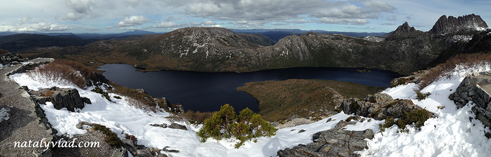 Cradle Mountain Dove Lake Marions Lookout Tasmania