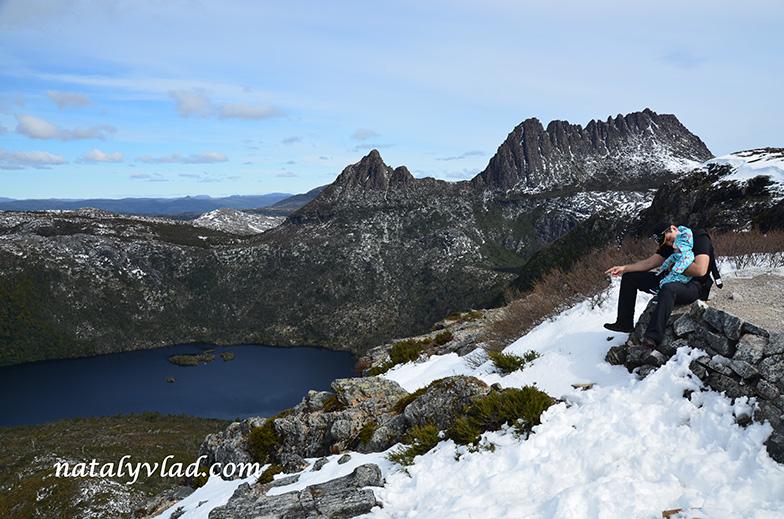 Тасмания Горы и озеро