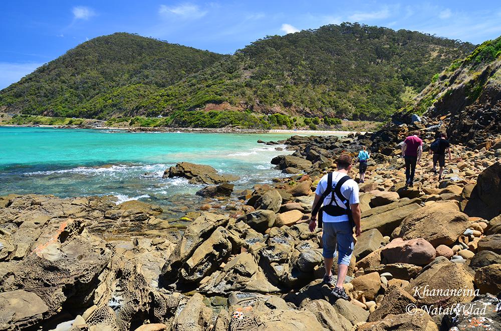 Австралия Пляж Океан Лорн