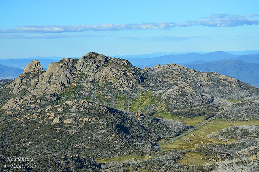 Горы в Австралии