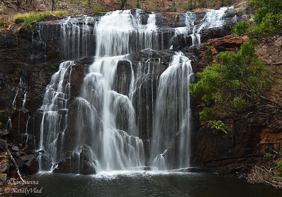 Водопады в Австралии Грампианс