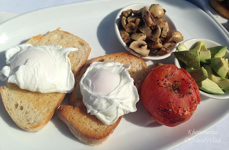 Вегетарианский завтрак Полезная еда