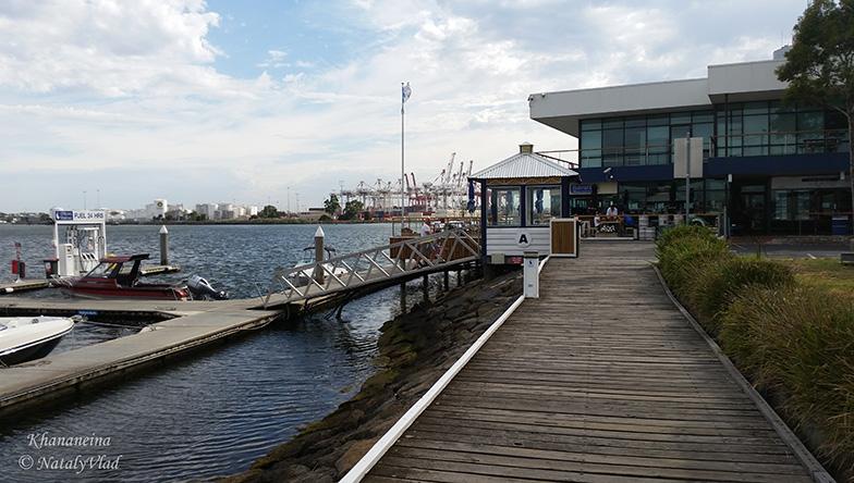 Австралия Кафе в Порт Мельбурне