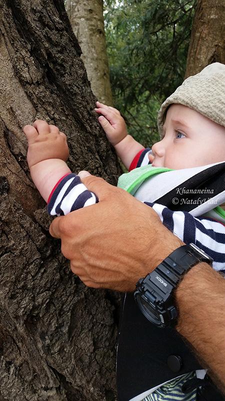 Путешествия с ребенком в слинге