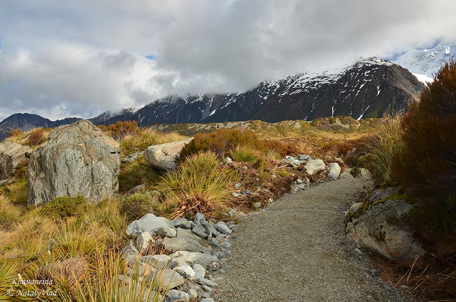Новая Зеландия Путешествие Природа Горы